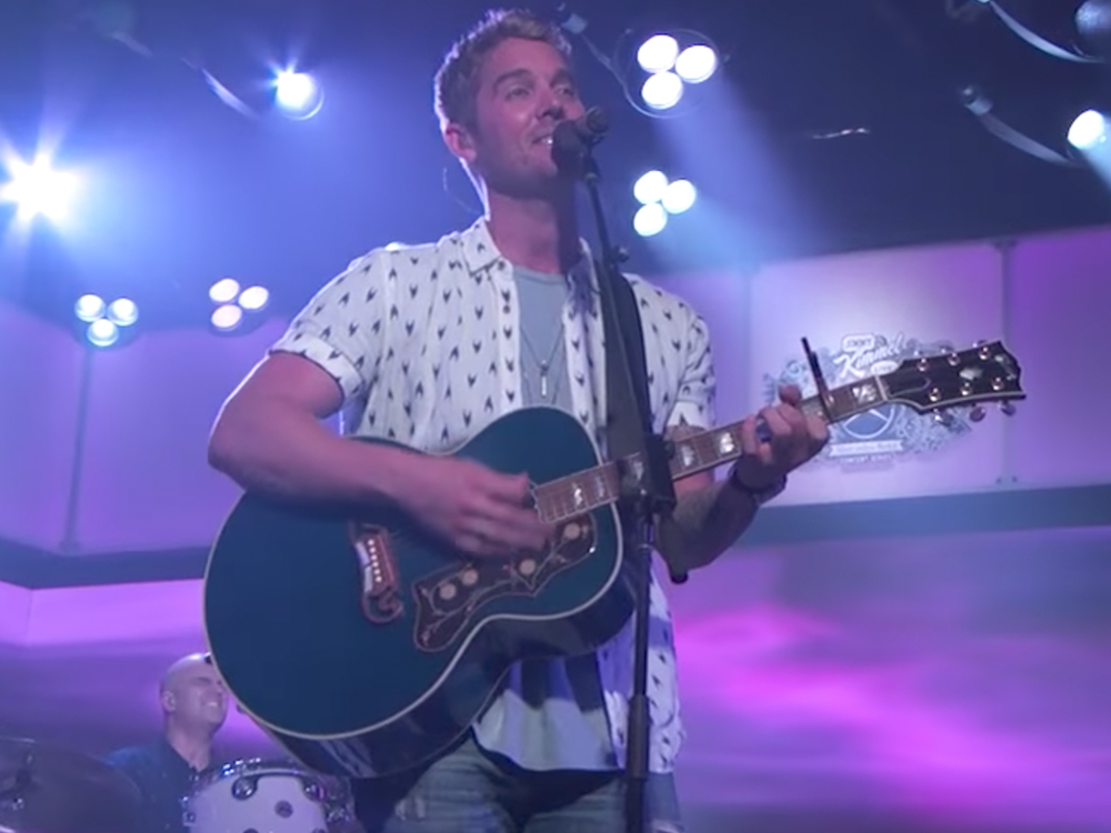 "Watch Brett Young Perform ""In Case You Didn't Know"" and ""Like I Loved You"" on ""Jimmy Kimmel"""
