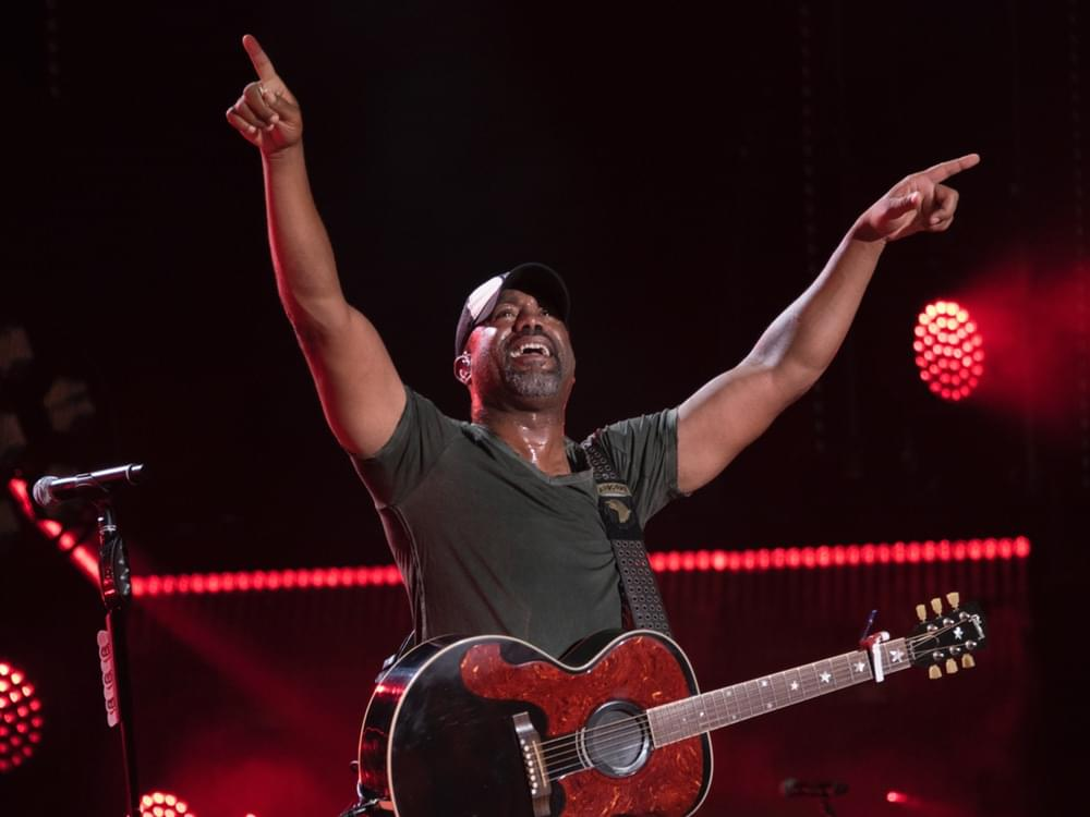 Darius Rucker to Headline College Football Playoff Concert With Opener Brett Young