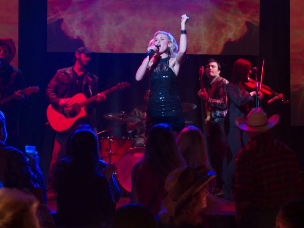 "Exclusive Clip: Watch Laura Bell Bundy Sing New Song, ""The Grass Ain't Greener,"" From Upcoming ""Pure Country"" Movie"