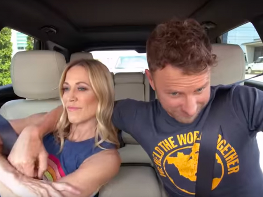 New Season Of Carpool Karaoke Features Dierks Bentley With Sheryl