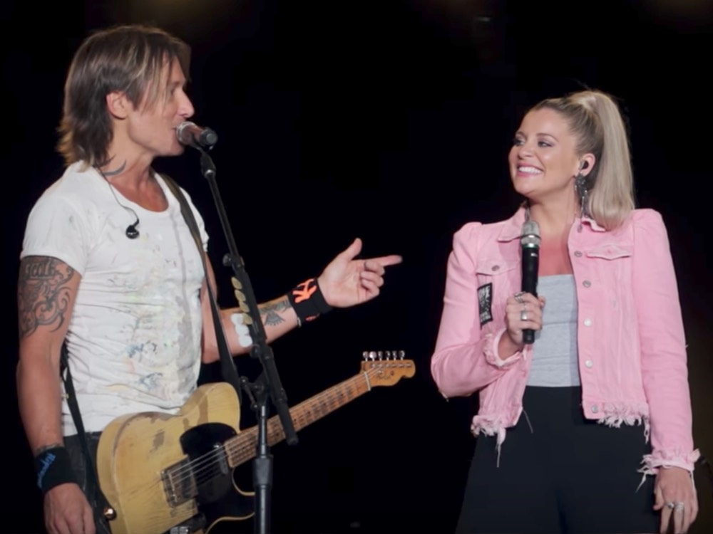 "Watch Keith Urban Team With Lauren Alaina for a Performance of ""We Were Us"""