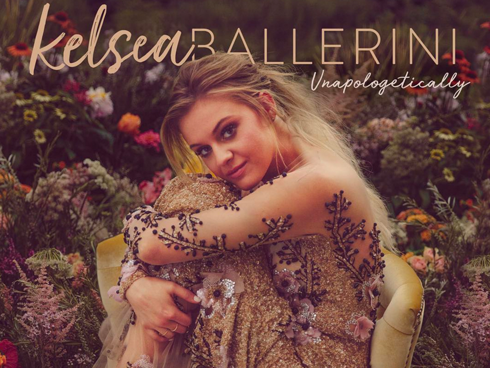 "Kelsea Ballerini Reveals Cover Art for Upcoming Album, ""Unapologetically"""