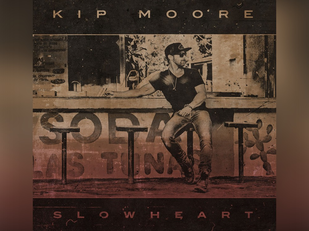 """Maniac"" Kip Moore Immersed Himself in Every Aspect of Upcoming Album, ""Slowheart"""