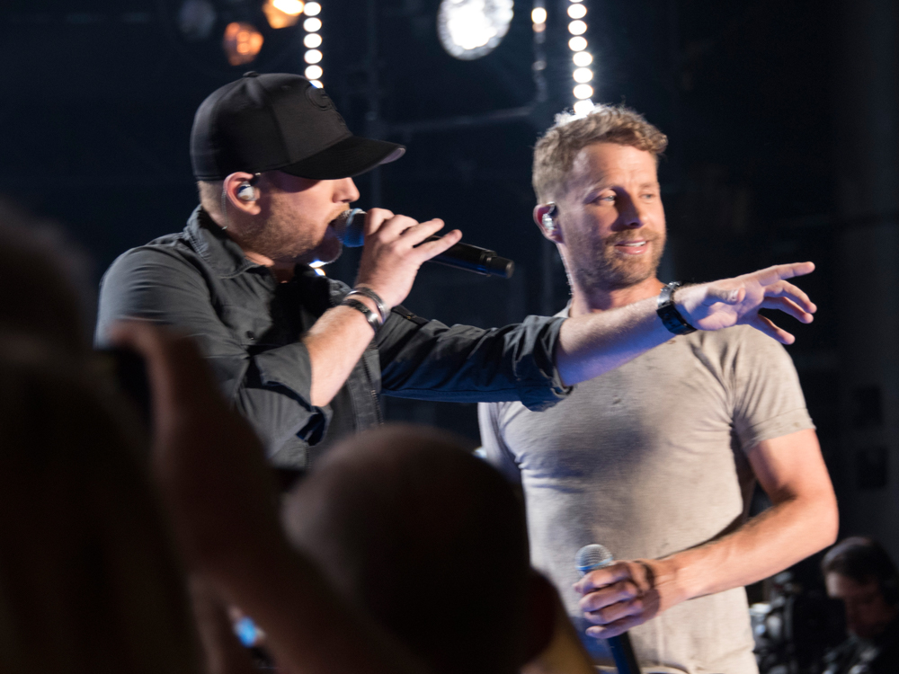 Cole Swindell Is Enjoying the View While Touring . . . and Flying With Dierks Bentley