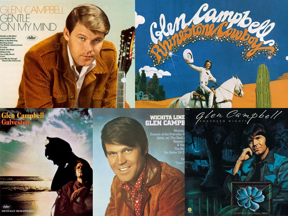 "The Stories Behind 5 of Glen Campbell's Biggest Hits, Including ""Rhinestone Cowboy,"" ""Gentle On My Mind"" & More"