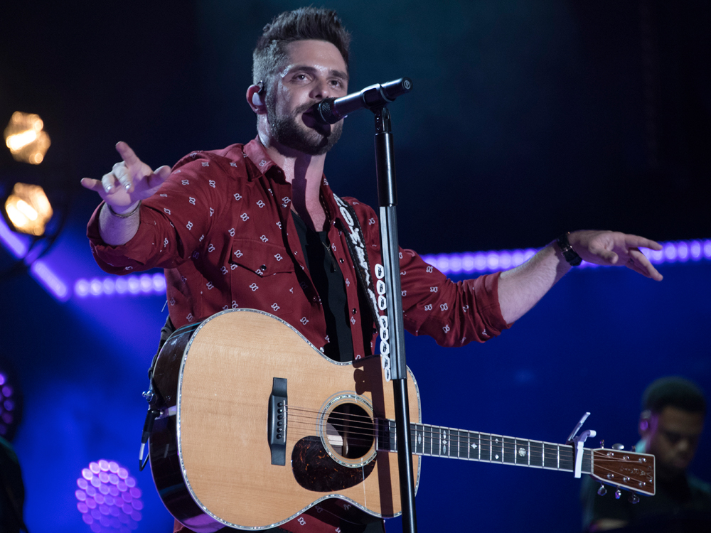 "Thomas Rhett Drops New Lyric Video for Nostalgic Tune, ""Sixteen"" [Watch]"