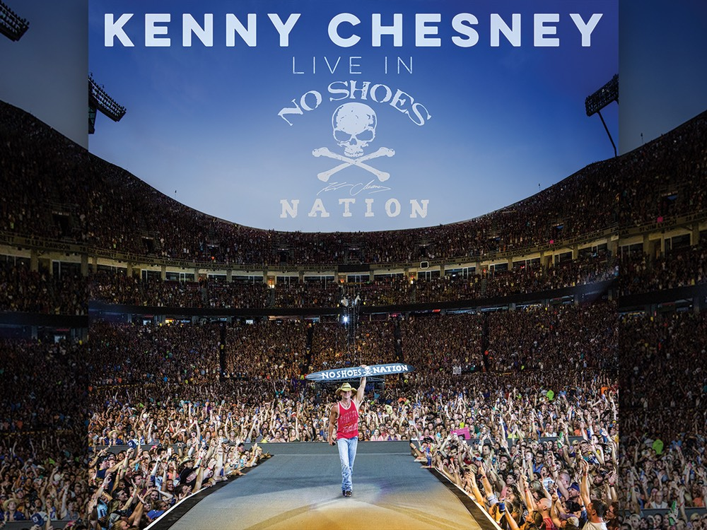 "Kenny Chesney's ""Live in No Shoes Nation"" Hits No. 1 on All-Genre Billboard 200 Albums Chart"