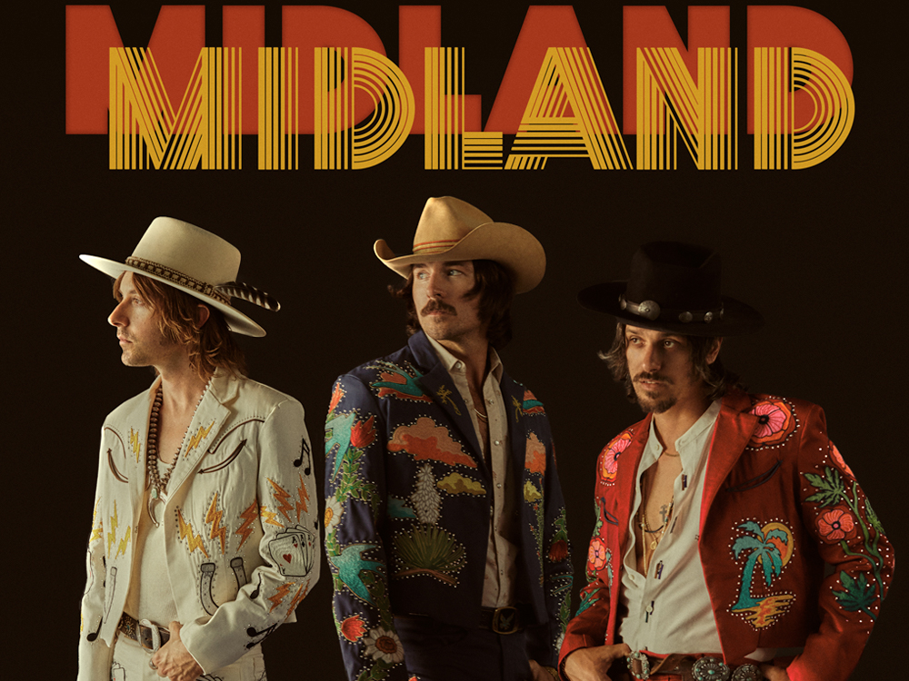 "Midland Reveals Cover Art & Track List for Upcoming Album, ""On the Rocks"""