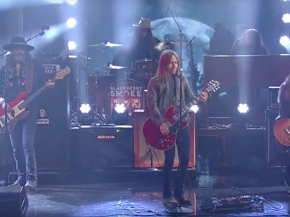 """Watch Blackberry Smoke Rock Out to """"Waiting on the Thunder"""" on """"The Late Show"""""""