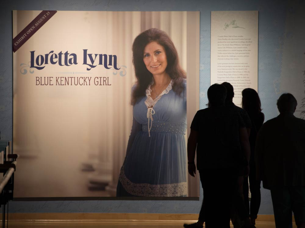 Photo Gallery: Inside Loretta Lynn's New Hall of Fame Exhibit as Brandy Clark, Kacey Musgraves & Margo Price Honor the Icon