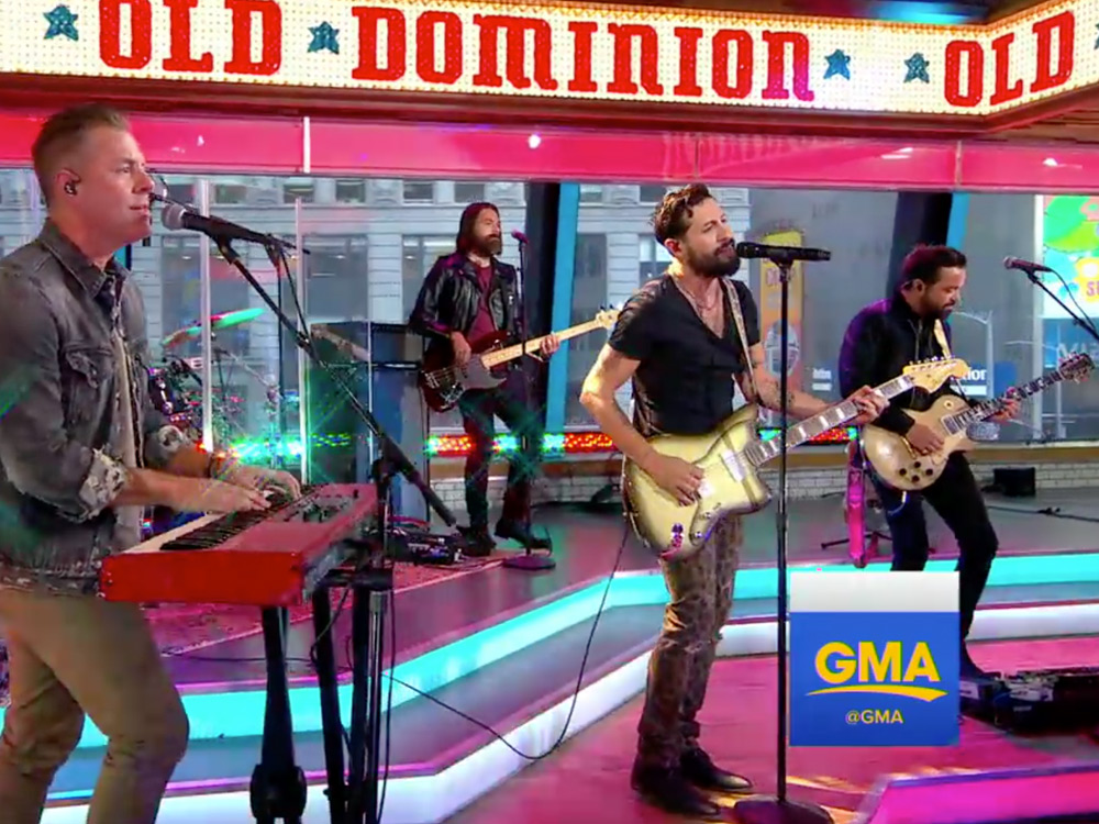 "Watch Old Dominion Perform ""No Such Thing as a Broken Heart"" on ""GMA"""