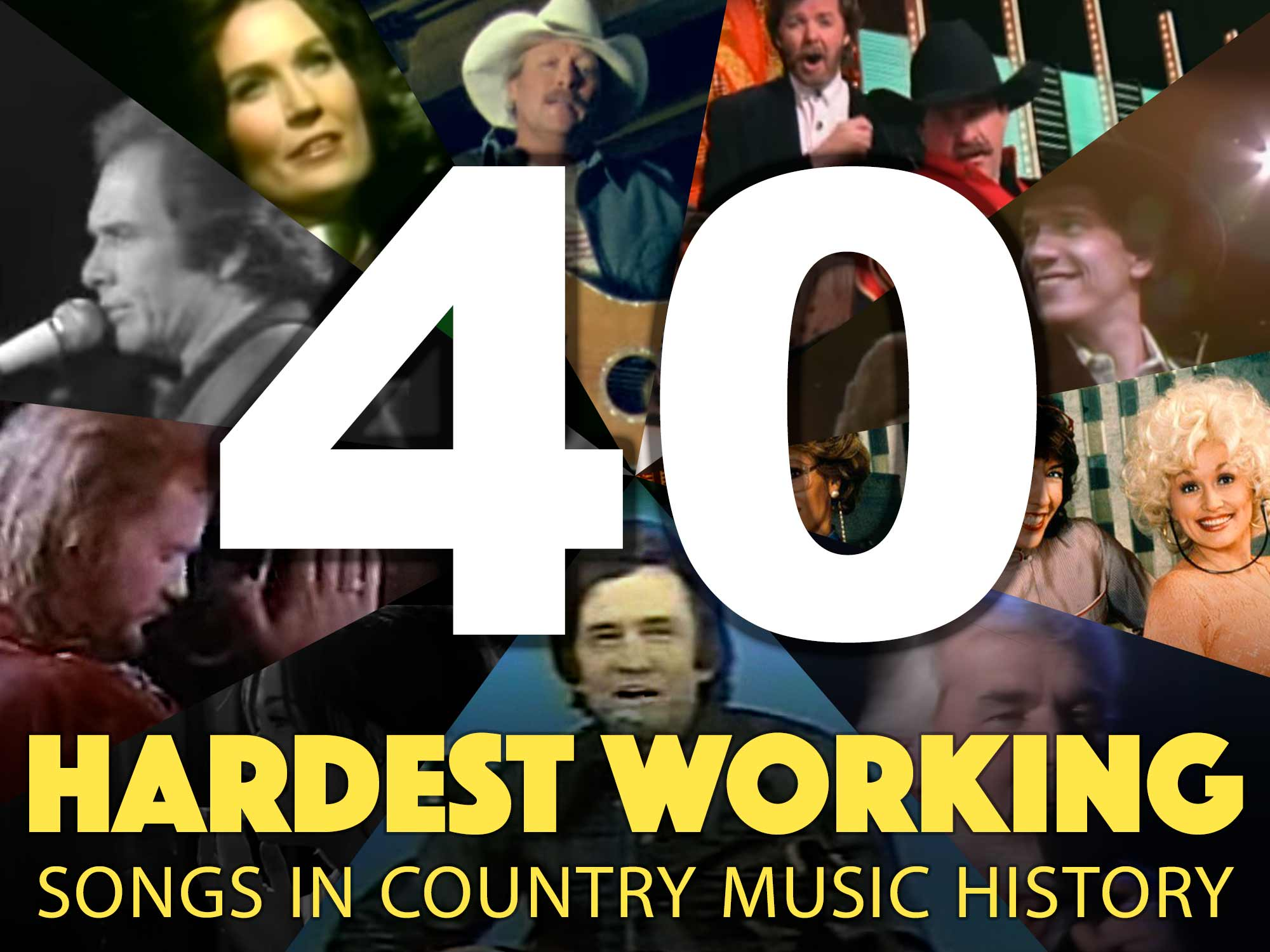 In Honor of Labor Day, We've Got the 40 Hardest Working Songs in Country Music
