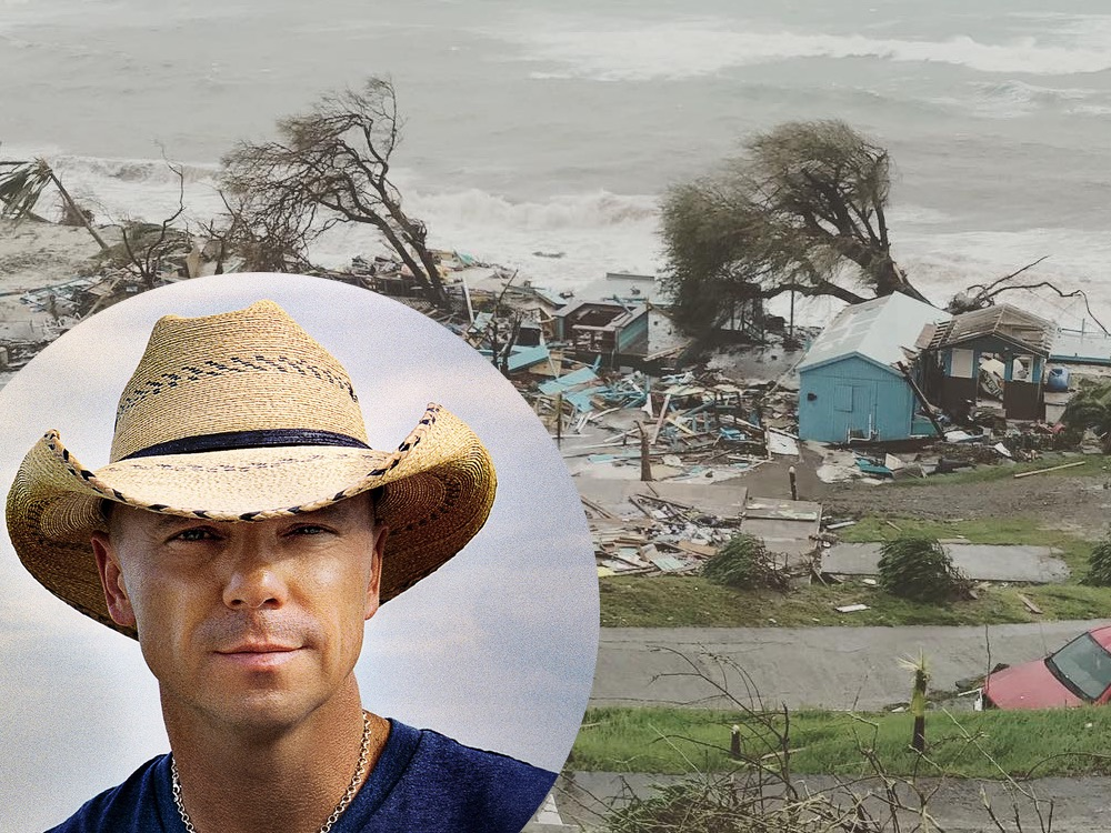 "Kenny Chesney's St. John House is ""Simply Gone"" After Hurricane Irma, Creating ""Love for Love City"" Foundation to Help Island Residents"