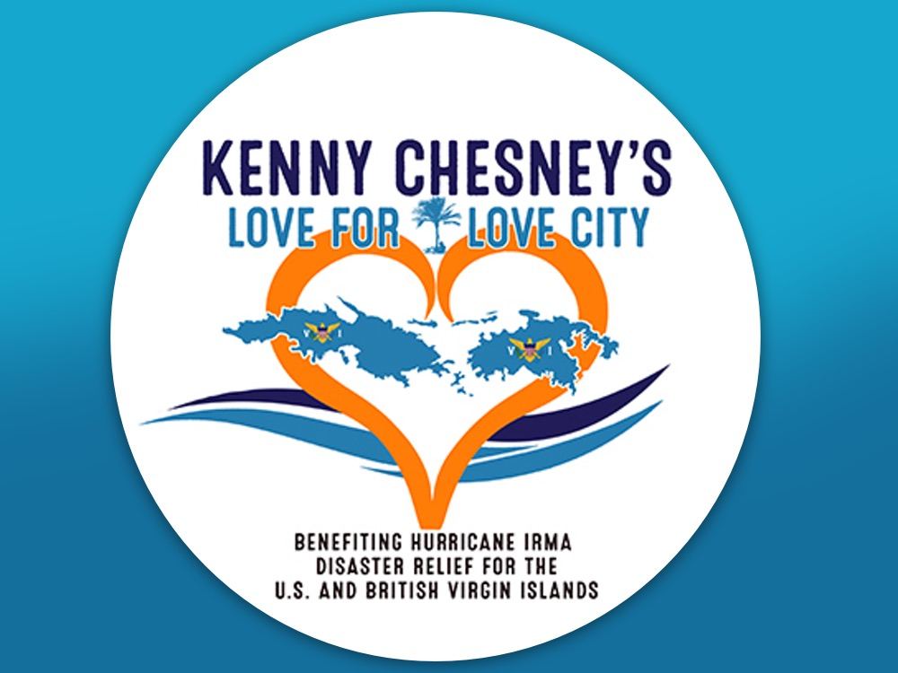 "Kenny Chesney Launches ""Love for Love City"" Foundation for Hurricane Irma Relief & Records New Music"
