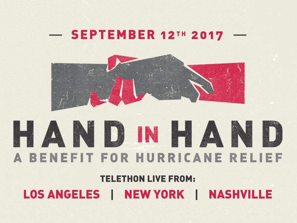 Hand in Hand Telethon Raises More Than $44 Million for Hurricane Relief . . . and Counting