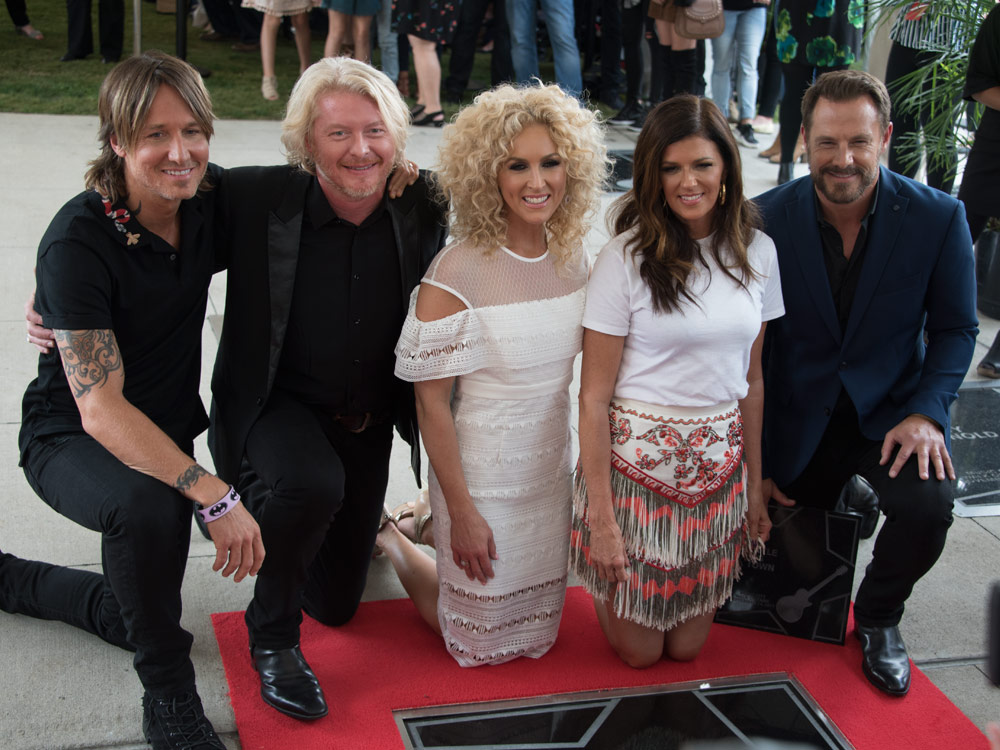 Keith Urban Inducts Little Big Town Into the Music City Walk of Fame