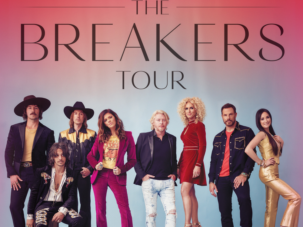 "Little Big Town Announces 2018 ""The Breakers Tour"" With Kacey Musgraves & Midland"