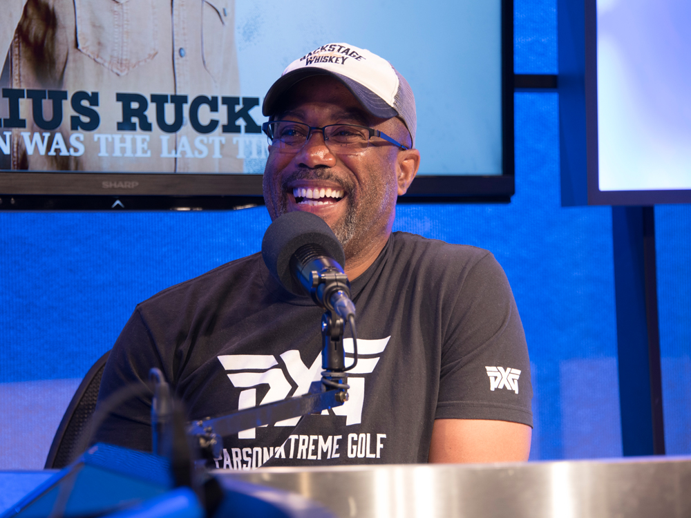 "Darius Rucker's New Album Features a Collaboration With Luke Bryan, Jason Aldean & Charles Kelley on ""Straight to Hell"""