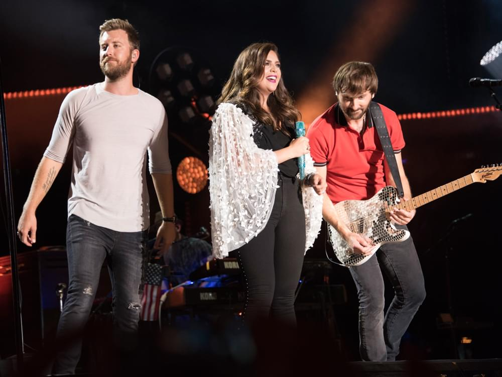 Watch Lady Antebellum Sing, Slip Up & Save Their National Anthem Performance Before Game 5 of the Predators 2nd Round Playoff Series