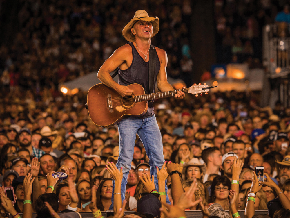 "Kenny Chesney Announces 2018 ""Trip Around the Sun Tour"""