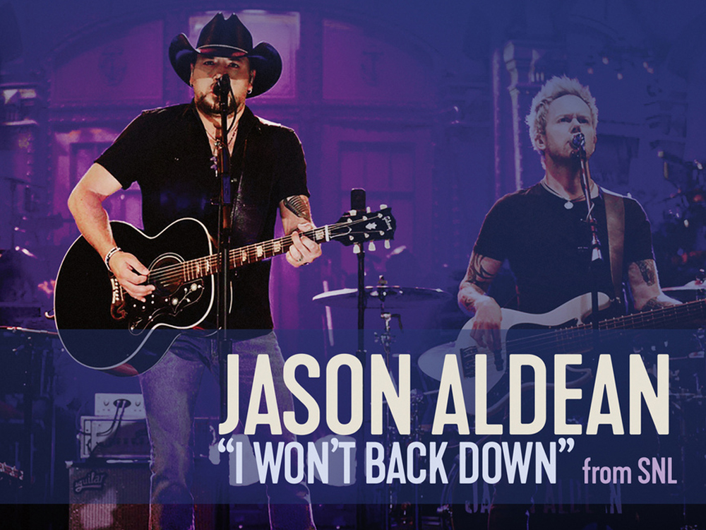 "Sales of Jason Aldean's ""SNL"" Performance of ""I Won't Back Down"" Will Benefit Las Vegas Shooting Victims"