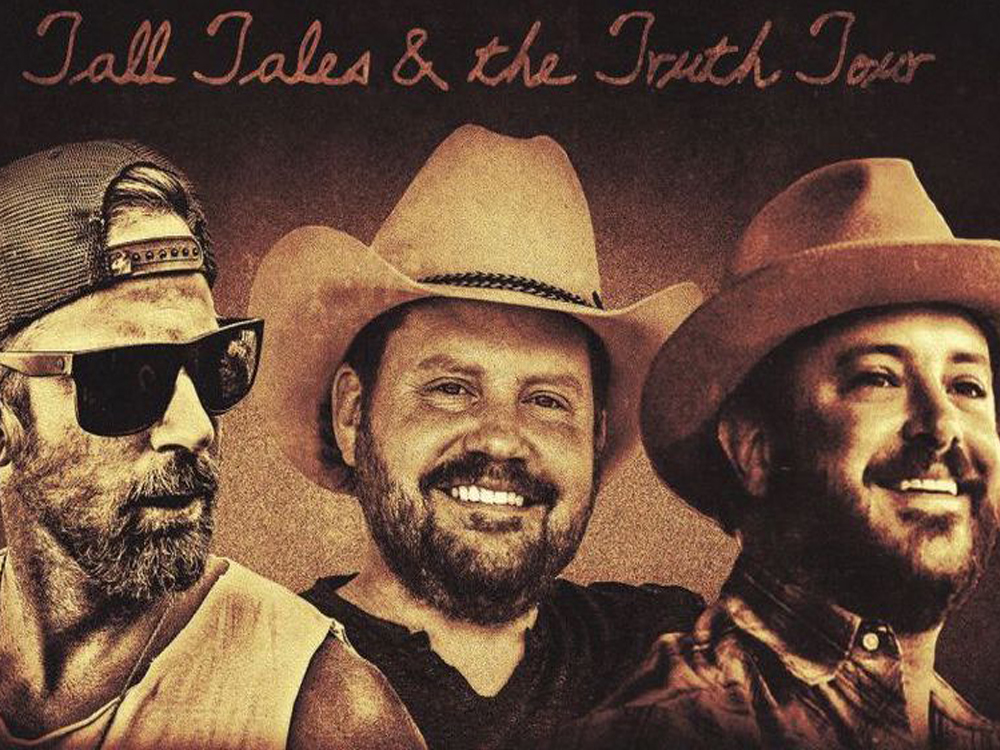Kip Moore, Randy Rogers & Wade Bowen: Tall Tales and the Truth Tour