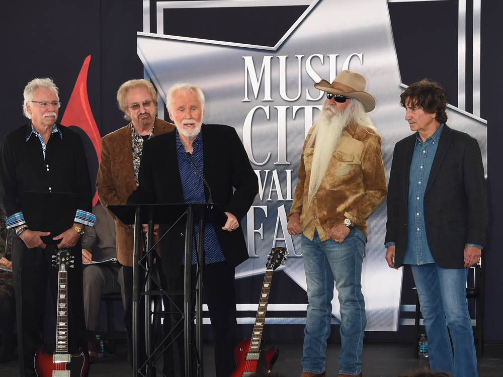 "[Photo Gallery] Kenny Rogers Inducted Into Music City Walk of Fame: ""Last Thing on My Bucket List"""