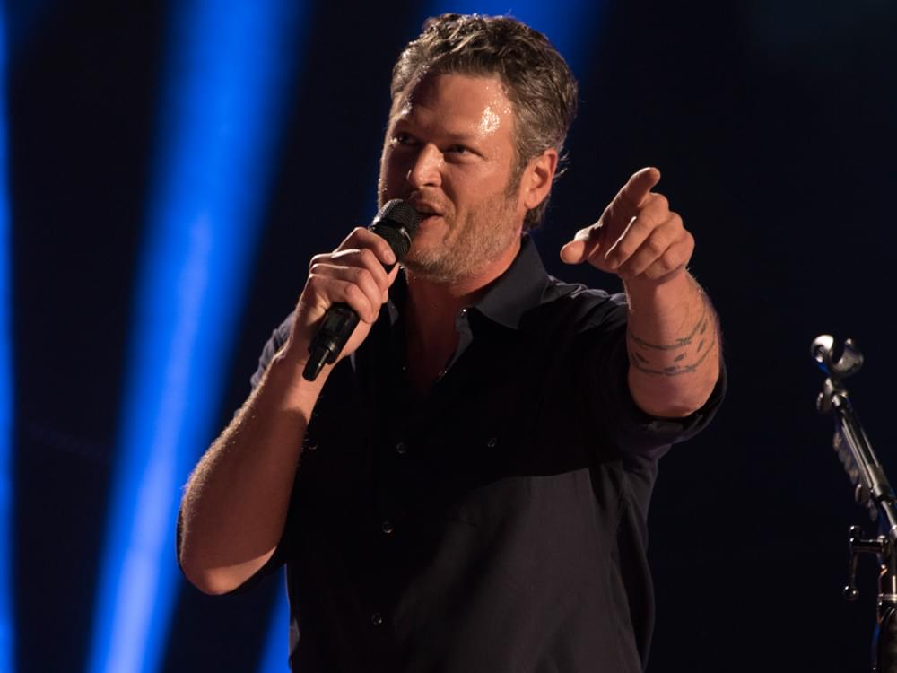 Blake Shelton Wins 2018 People's Choice Awards