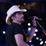 Watch Brad Paisley Sing the National Anthem Before Game 2 of the Nashville Predators Opening Round Playoff Series