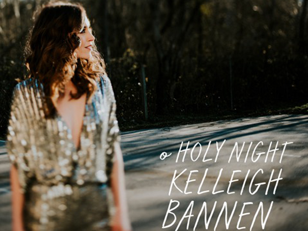 "Exclusive Premiere: Listen as Kelleigh Bannen Puts Her Soulful Spin on ""O Holy Night"""