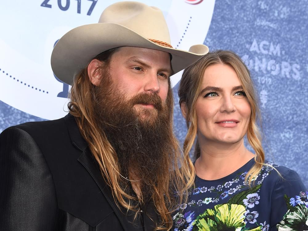 Chris Stapleton & Wife Morgane Announce They Are Expecting Their Fifth Child