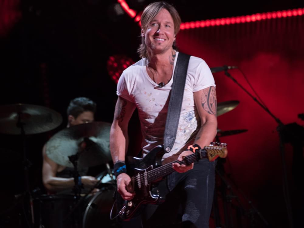 "Keith Urban Covers Marshmello's No. 1 Dance Hit, ""Happier"" [Listen]"