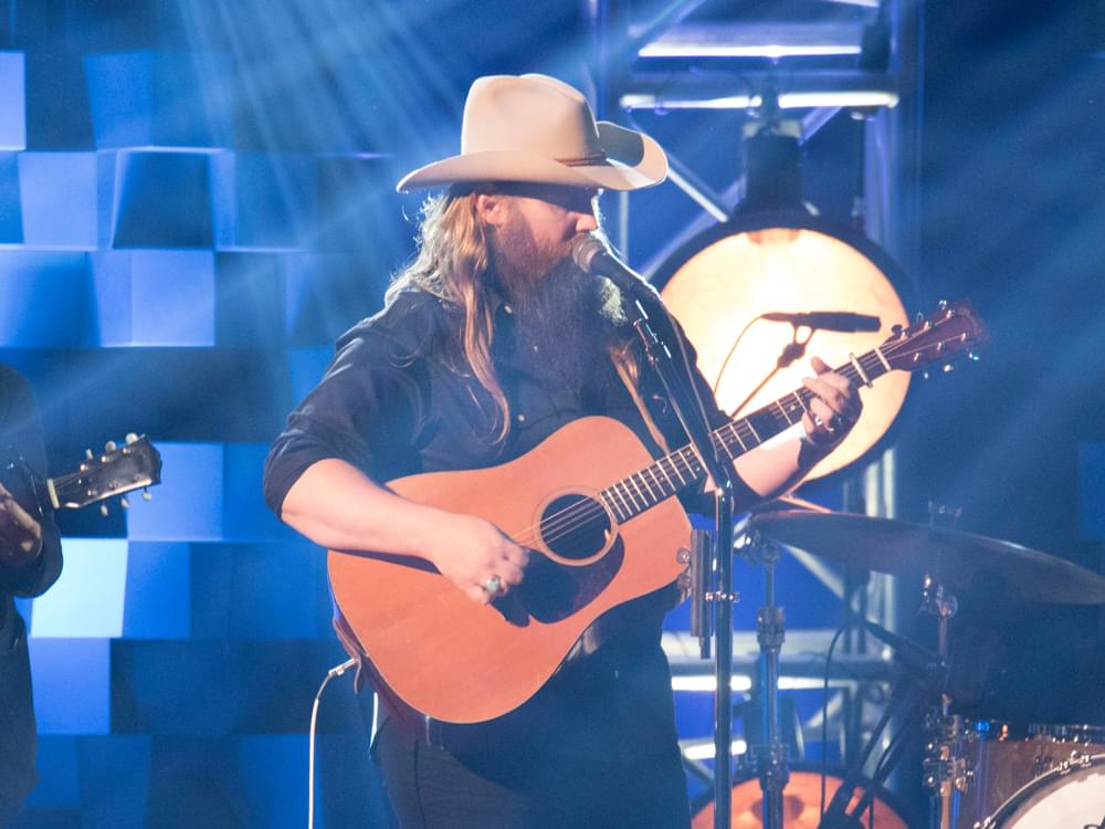"Watch Chris Stapleton Perform ""Drunkard's Prayer"" on ""The Late Show"""