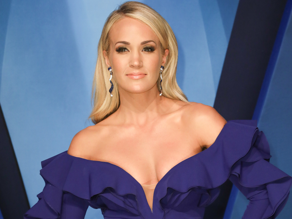 Carrie Underwood Reveals She Needed More Than 40 Facial Stitches After Her Accident in November