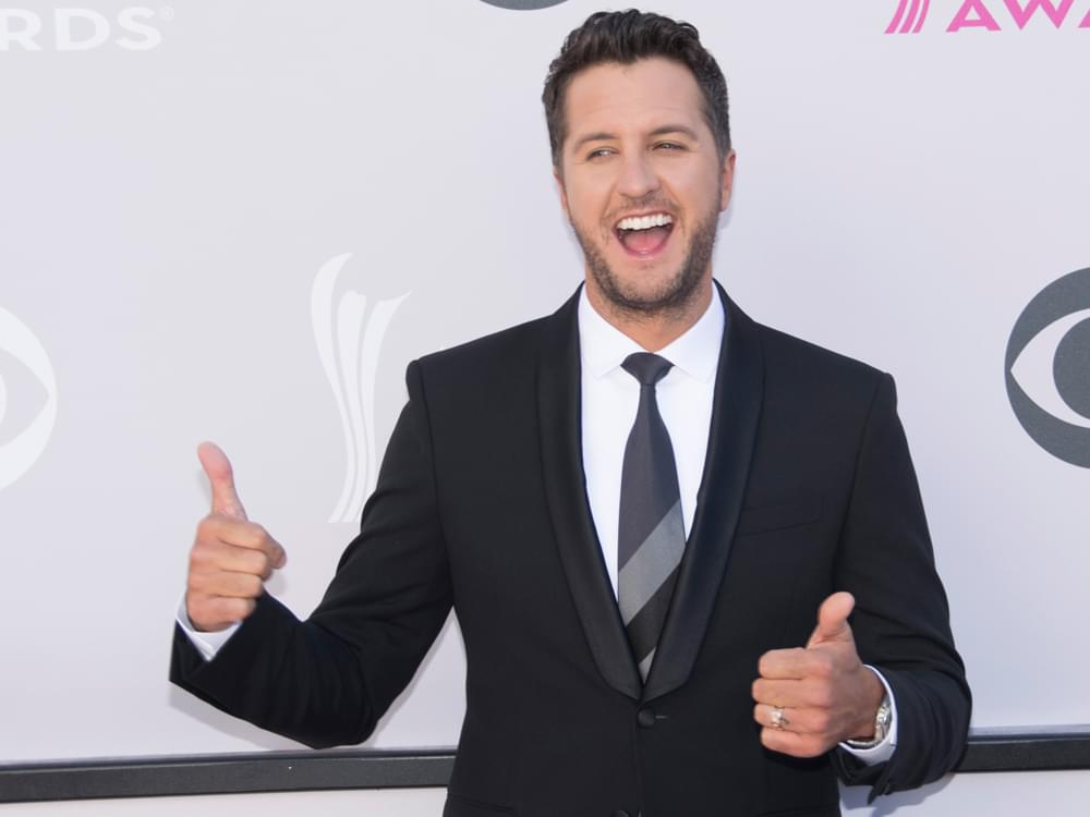 Luke Bryan's Surprise for his Kids