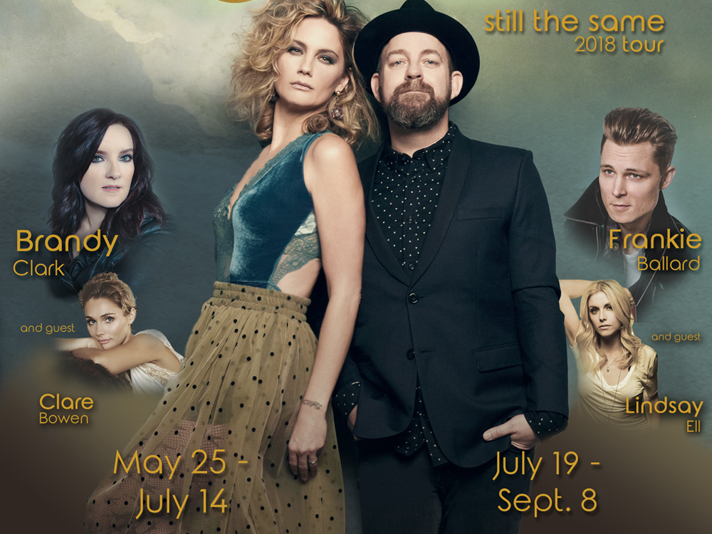 "Sugarland Announces ""Still the Same Tour"" Dates and Openers, Including Lindsay Ell, Brandy Clark & More"