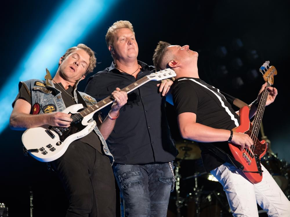 "Rascal Flatts Announces New ""Back to Us Tour"" With Openers Dan + Shay & Carly Pearce"