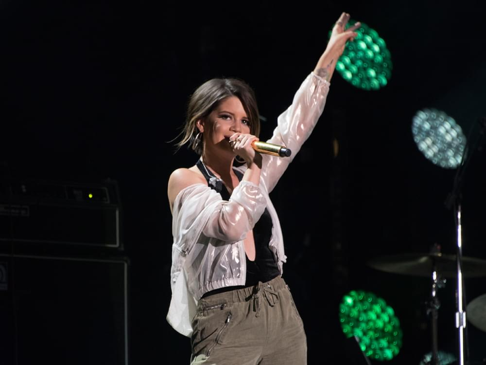 "Maren Morris Scores First No. 1 Single With ""I Could Use a Love Song"""