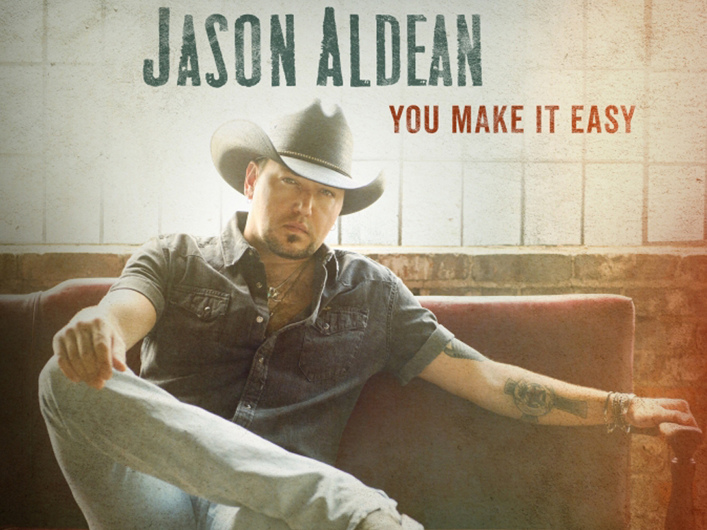 "Jason Aldean Releases New Single, ""You Make It Easy,"" From Upcoming Album, ""Rearview Town"" [Listen]"