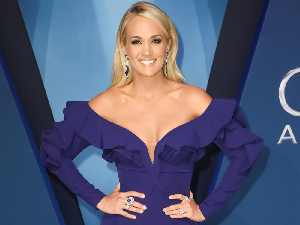 "Carrie Underwood Says Her Parents and Husband Are Her ""Champions"""