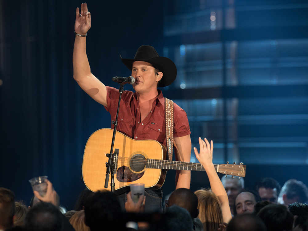 "Watch Jon Pardi Work, Rope & Reminisce in New Video for ""She Ain't In It"""
