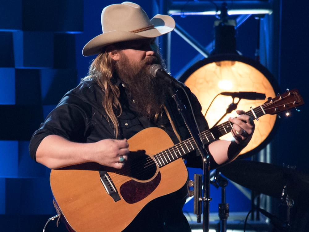 Chris Stapleton Reaches Milestone Accomplishment With First No. 1 Single