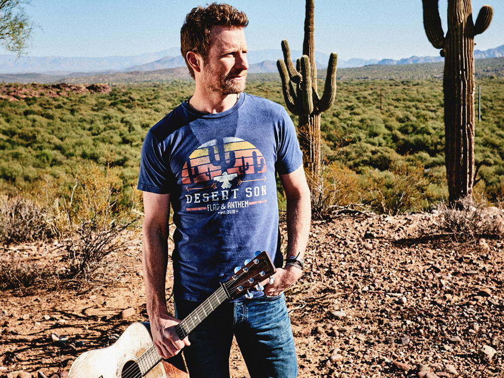"Dierks Bentley Launches New ""Desert Son"" Clothing Line"