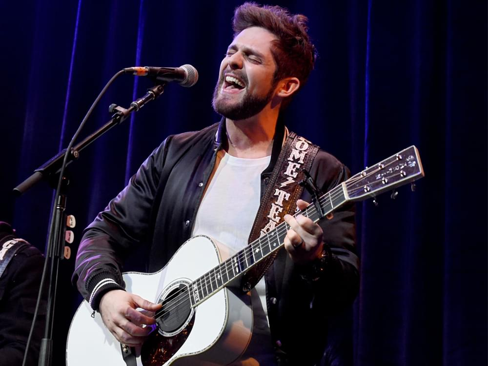 "Watch Thomas Rhett and Peyton Manning Duet ""That Ain't My Truck"" at Fundraiser"
