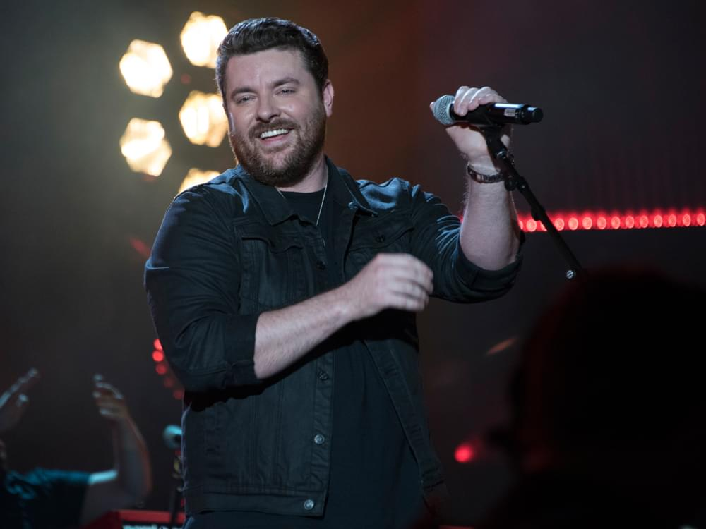 "Chris Young Has Been Hanging On to Hit Single, ""Hangin' On,"" for More Than 3 Years"