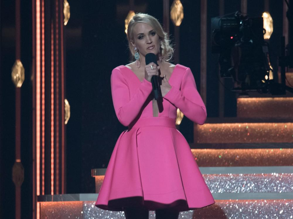 Carrie Underwood Donates $10,000 to Injured Oklahoma Police Officer