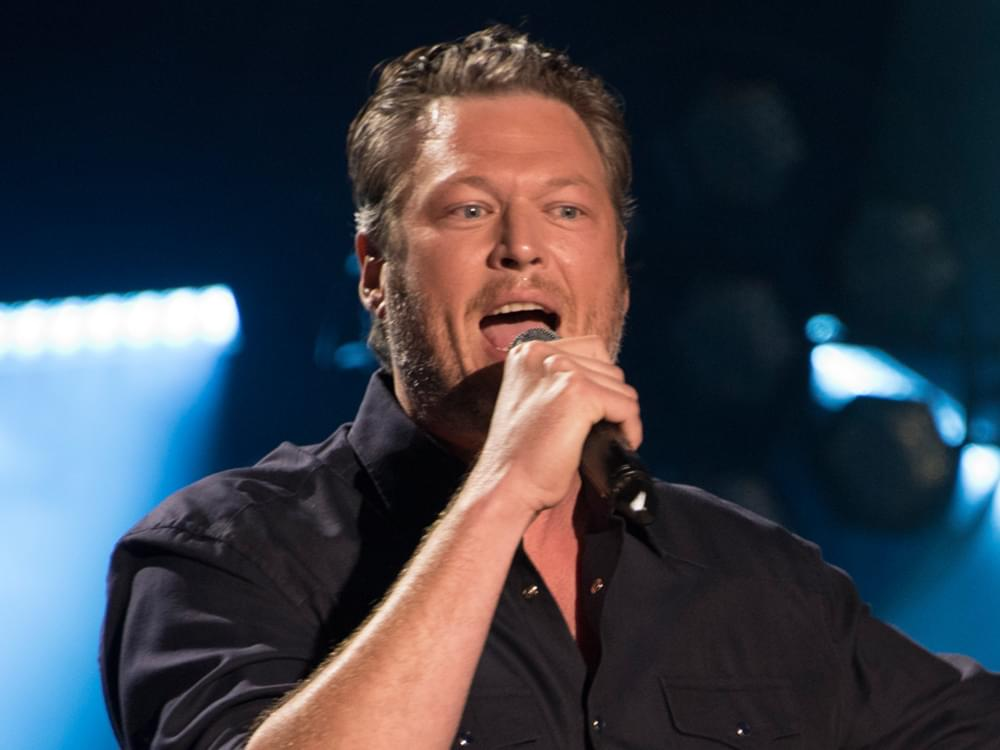"Watch Blake Shelton Turn It Up in Acoustic Video for ""Turnin' Me On"""