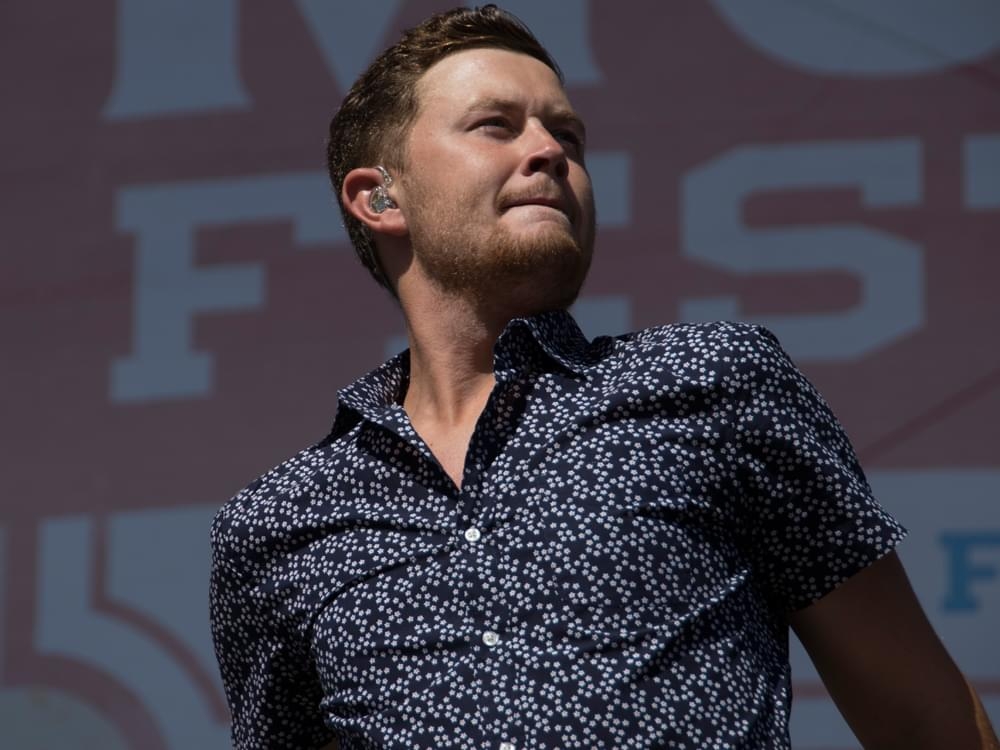 "Scotty McCreery Scores First Career No. 1 Single With ""Five More Minutes"""