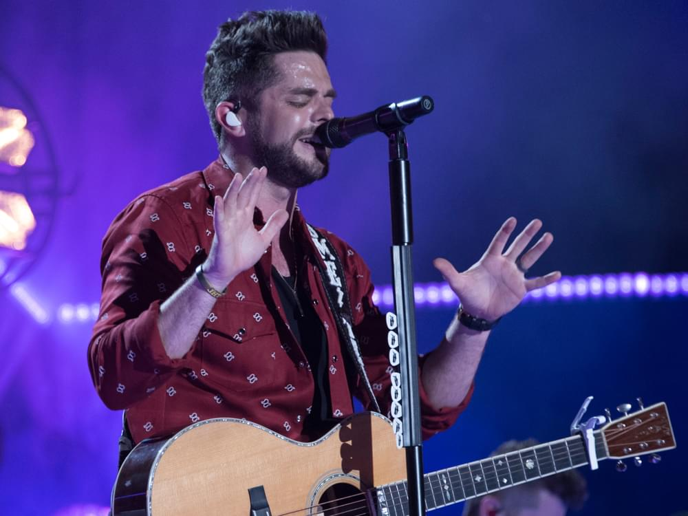 "Thomas Rhett Scores 10th No. 1 Single With ""Marry Me"""
