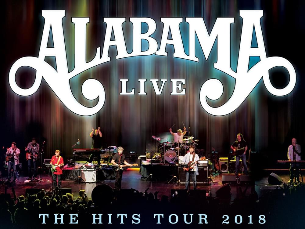 "Alabama Announces ""The Hits Tour 2018"""